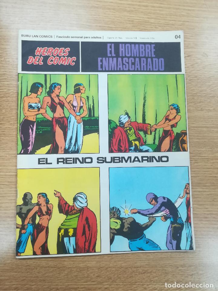 EL HOMBRE ENMASCARADO #04 (Tebeos y Comics - Buru-Lan - Hombre Enmascarado)