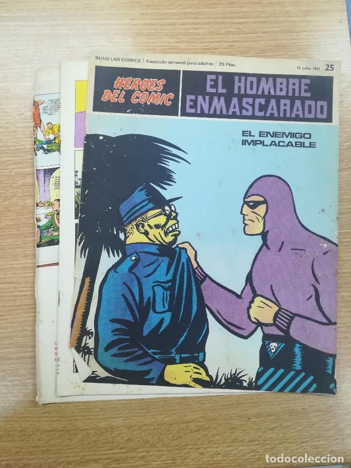 EL HOMBRE ENMASCARADO #25 (Tebeos y Comics - Buru-Lan - Hombre Enmascarado)