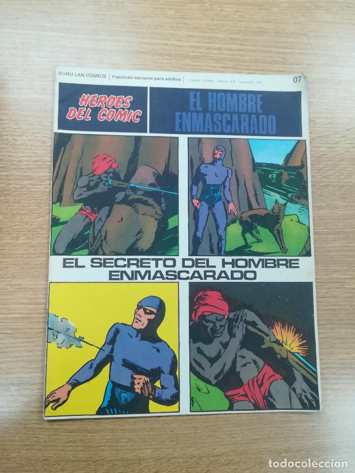 EL HOMBRE ENMASCARADO #07 (Tebeos y Comics - Buru-Lan - Hombre Enmascarado)