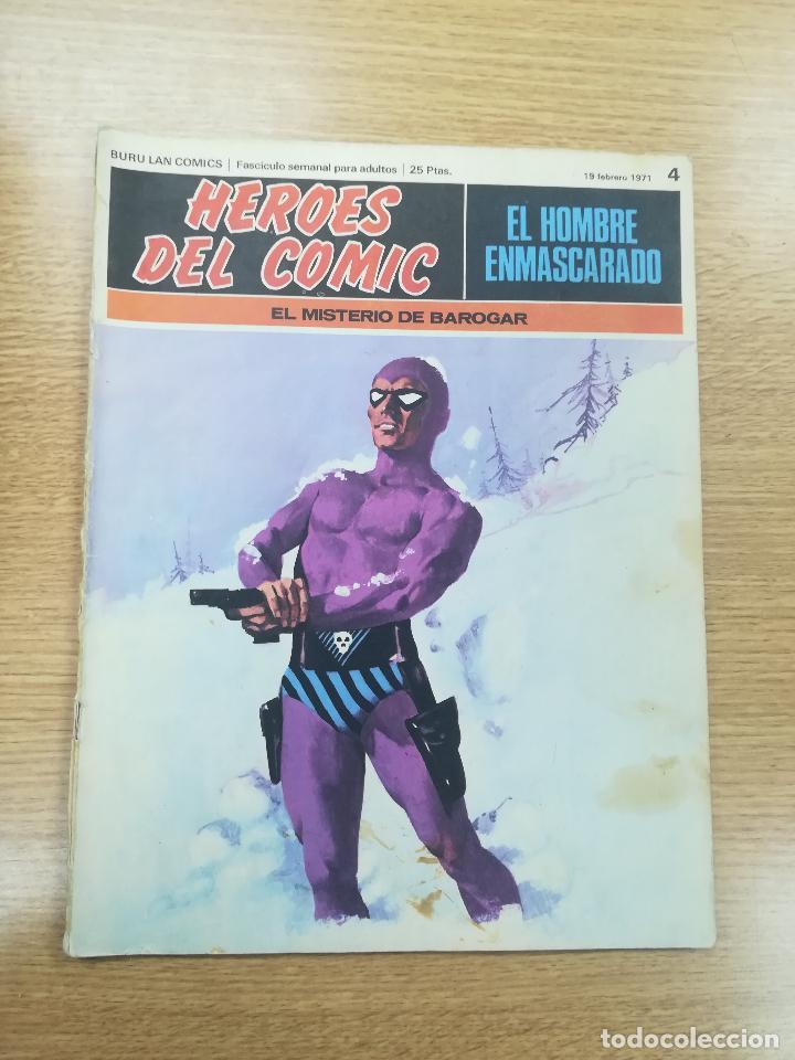 EL HOMBRE ENMASCARADO #4 (Tebeos y Comics - Buru-Lan - Hombre Enmascarado)