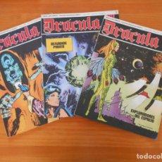 Cómics: DRACULA Nº 1, 2 Y 3 - BURU LAN (AN). Lote 192953030
