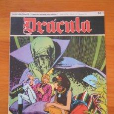 Cómics: DRACULA Nº 53 - BURU LAN (AN). Lote 192953175