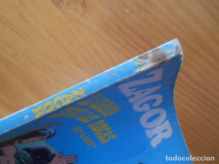 Cómics: ZAGOR Nº 25 - LA CABAÑA SOBRE LAS ROCAS - BURU LAN (6T) - Foto 2 - 193061205