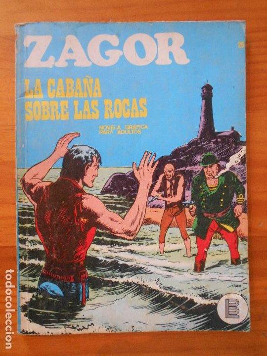 ZAGOR Nº 25 - LA CABAÑA SOBRE LAS ROCAS - BURU LAN (6T) (Tebeos y Comics - Buru-Lan - Zagor)