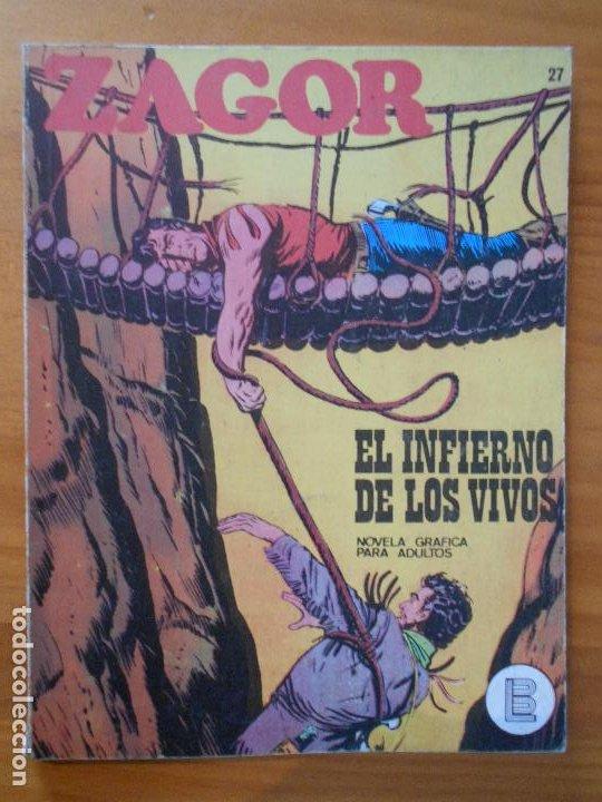ZAGOR Nº 27 - EL INFIERNO DE LOS VIVOS - BURU LAN (6T) (Tebeos y Comics - Buru-Lan - Zagor)