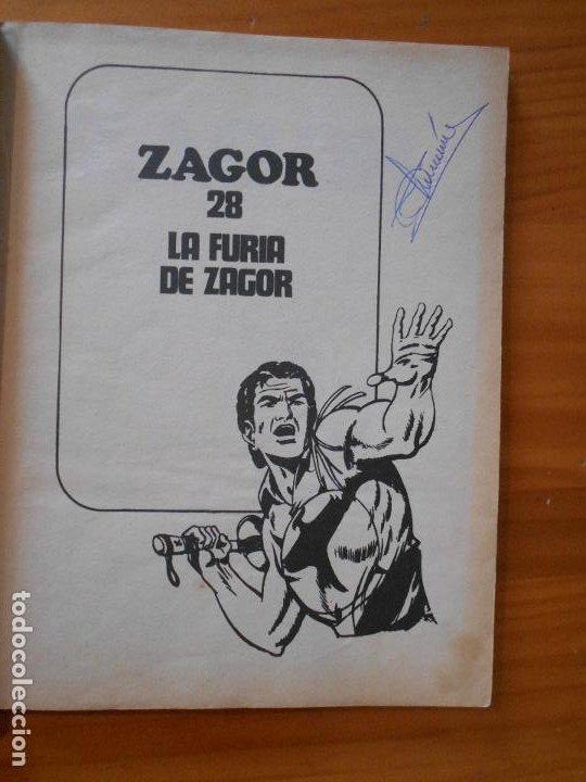 Cómics: ZAGOR Nº 28 - LA FURIA DE ZAGOR - BURU LAN - LEER DESCRIPCION (6T) - Foto 3 - 193063327