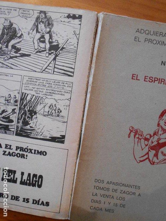 Cómics: ZAGOR Nº 28 - LA FURIA DE ZAGOR - BURU LAN - LEER DESCRIPCION (6T) - Foto 4 - 193063327