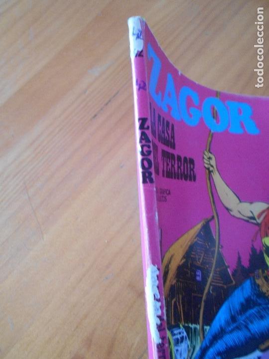 Cómics: ZAGOR Nº 42 - LA CASA DEL TERROR - BURU LAN - LEER DESCRIPCION (7J) - Foto 4 - 193116255