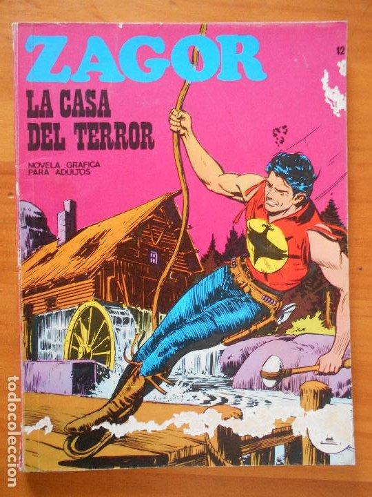 ZAGOR Nº 42 - LA CASA DEL TERROR - BURU LAN - LEER DESCRIPCION (7J) (Tebeos y Comics - Buru-Lan - Zagor)