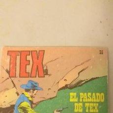 Cómics: TEX Nº 35, EL PASADO DE TEX, EDICIONES BURU-LAN, 1971. Lote 193185917