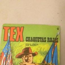 Cómics: TEX Nº 42, CHAQUETAS ROJAS, EDICIONES BURU LAN 1972. Lote 193186280