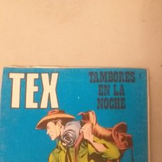 Cómics: TEX Nº 4, TAMBORES EN LA NOCHE, EDICIONES BURU LAN, 1970. Lote 193186356