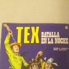 Cómics: TEX Nº 38, BATALLA EN LA NOCHE, EDICIONES BURU-LAN, 1971. Lote 193186430