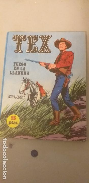 TEX- FUEGO EN LA LLANURA - Nº 17 - BURU LAN - 1971 (Tebeos y Comics - Buru-Lan - Tex)