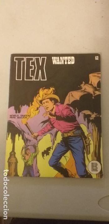 TEX Nº 62, WANTED, EDICIONES BURU-LAN, 1971 (Tebeos y Comics - Buru-Lan - Tex)