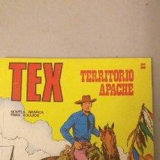Cómics: TEX TERRITORIO APACHE Nº 23-EDICCIONES BURU LAN AÑO 1973. Lote 193187210