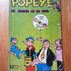 Cómics: POPEYE EL MARINO DE LA PIPA Nº 2 ED BURU LAN BURULAN 1970 SIN CARTEL. Lote 193217163