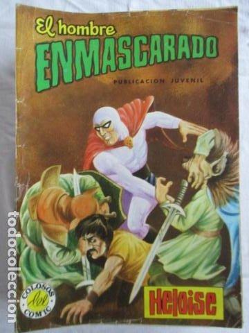 Cómics: Lote de 20 numeros de El Hombre Enmascarado. - Foto 6 - 193447387