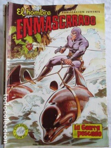 Cómics: Lote de 20 numeros de El Hombre Enmascarado. - Foto 7 - 193447387