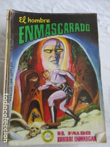 Cómics: Lote de 20 numeros de El Hombre Enmascarado. - Foto 9 - 193447387