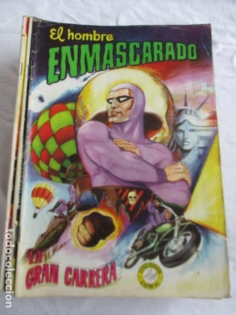 Cómics: Lote de 20 numeros de El Hombre Enmascarado. - Foto 12 - 193447387