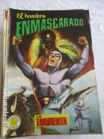 Cómics: Lote de 20 numeros de El Hombre Enmascarado. - Foto 14 - 193447387