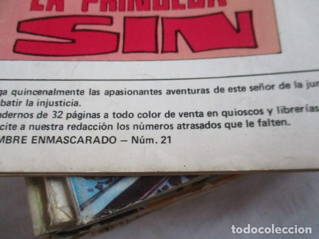 Cómics: Lote de 20 numeros de El Hombre Enmascarado. - Foto 17 - 193447387