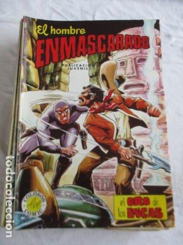 Cómics: Lote de 20 numeros de El Hombre Enmascarado. - Foto 18 - 193447387