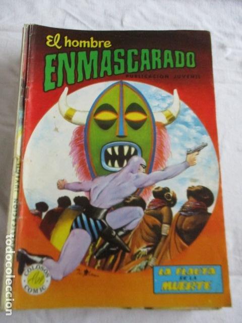 Cómics: Lote de 20 numeros de El Hombre Enmascarado. - Foto 22 - 193447387