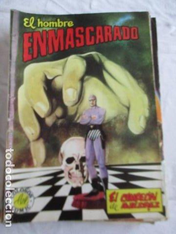 Cómics: Lote de 20 numeros de El Hombre Enmascarado. - Foto 26 - 193447387