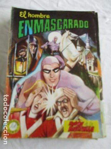Cómics: Lote de 20 numeros de El Hombre Enmascarado. - Foto 27 - 193447387