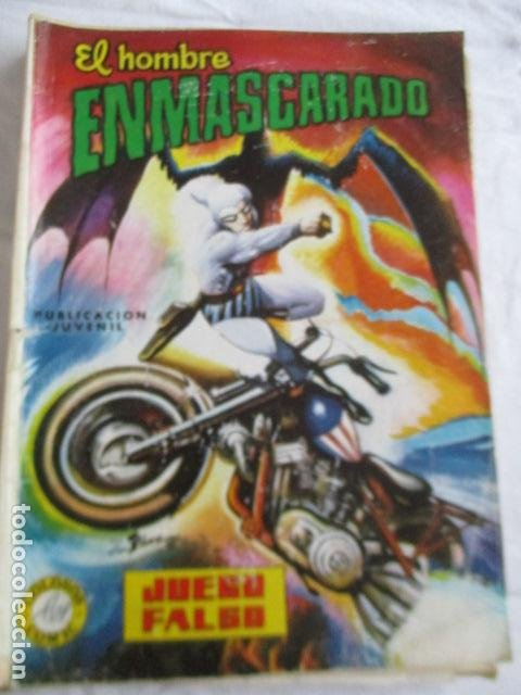Cómics: Lote de 20 numeros de El Hombre Enmascarado. - Foto 38 - 193447387