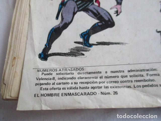 Cómics: Lote de 20 numeros de El Hombre Enmascarado. - Foto 41 - 193447387