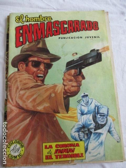 Cómics: Lote de 20 numeros de El Hombre Enmascarado. - Foto 45 - 193447387