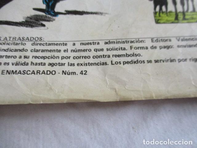 Cómics: Lote de 20 numeros de El Hombre Enmascarado. - Foto 46 - 193447387