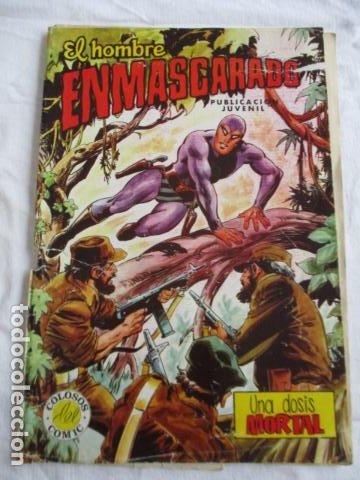 Cómics: Lote de 20 numeros de El Hombre Enmascarado. - Foto 50 - 193447387