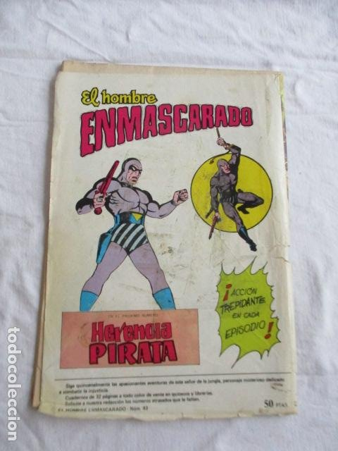Cómics: Lote de 20 numeros de El Hombre Enmascarado. - Foto 54 - 193447387