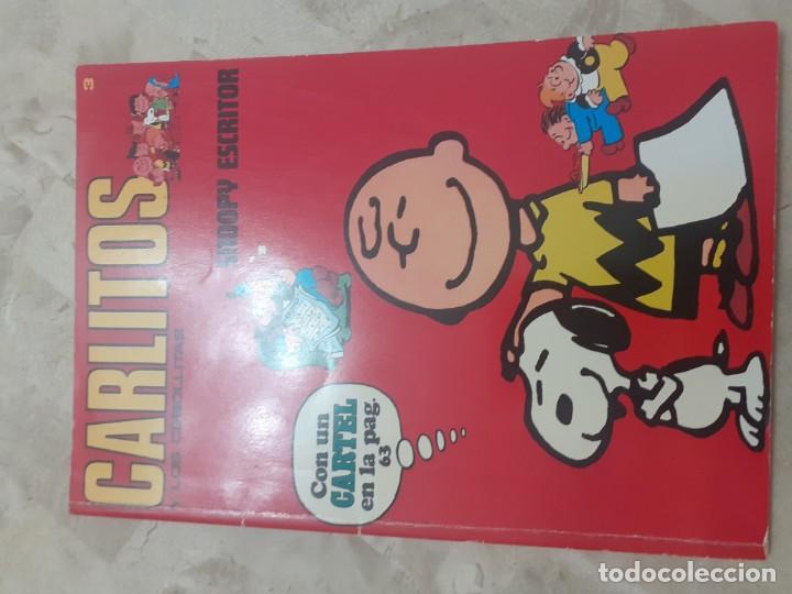 Cómics: Numeros 1 2 y 3 de la Coleccion Carlitos y los Cebollitas - Foto 3 - 193713693