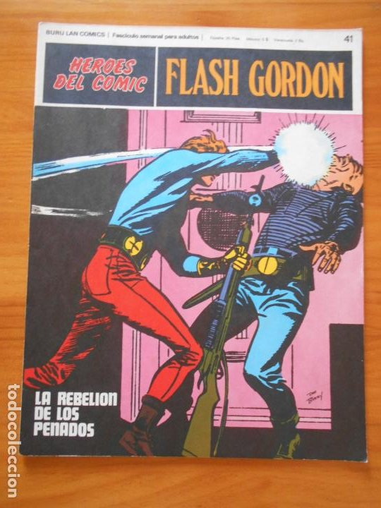 FLASH GORDON Nº 41 - HEROES DEL COMIC - BURU LAN (IP) (Tebeos y Comics - Buru-Lan - Flash Gordon)