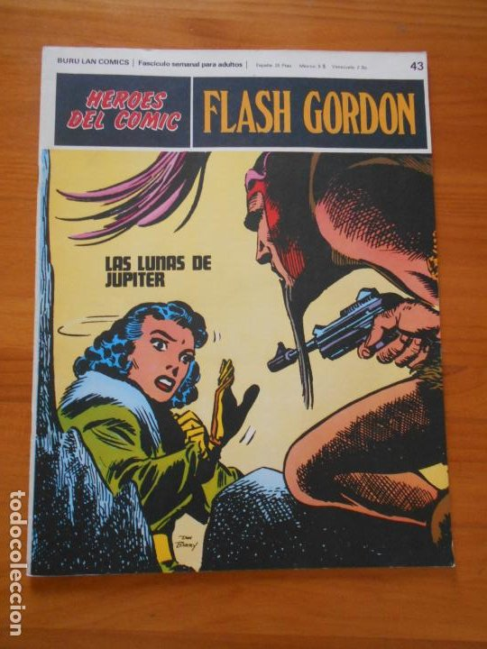 FLASH GORDON Nº 43 - HEROES DEL COMIC - BURU LAN (IP) (Tebeos y Comics - Buru-Lan - Flash Gordon)