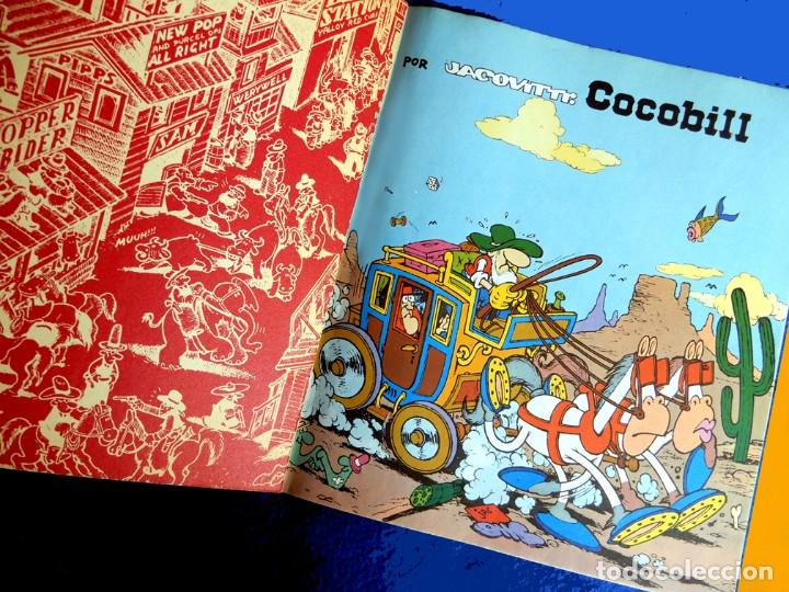 Cómics: COCOBILL, COCOBILL Y LA REVOLUCIÓN - Nº 8, POR JACOVITTI - EDICIONES BURU LAN, 1973 - ORIGINAL - Foto 3 - 193970082