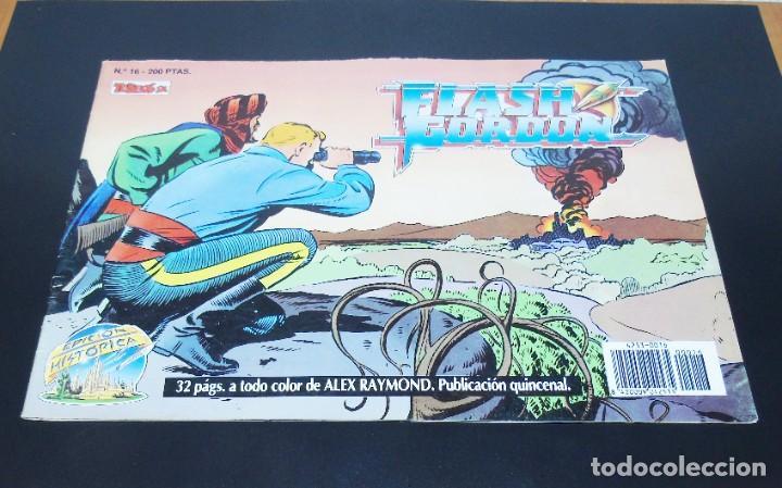 FLASH GORDON EDICION HISTORICA -- NUMERO 15 (Tebeos y Comics - Buru-Lan - Flash Gordon)
