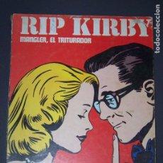 Cómics: BURU LAN RIP KIRBY MANGLER EL TRITURADOR. Lote 194157983