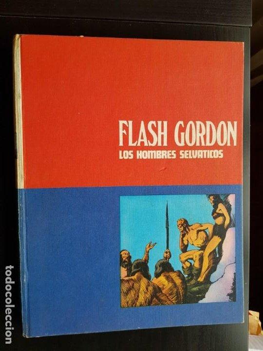 TEBEO / CÓMIC TOMO 2 FLASH GORDON BURU LAN 1972 LOS HOMBRES SELVÁTICOS ORIGINAL (Tebeos y Comics - Buru-Lan - Flash Gordon)