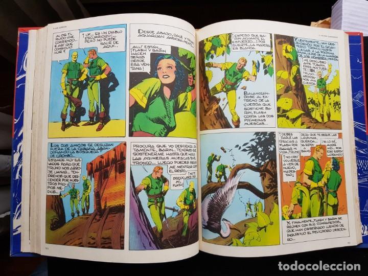 Cómics: TEBEO / CÓMIC TOMO 2 FLASH GORDON BURU LAN 1972 LOS HOMBRES SELVÁTICOS ORIGINAL - Foto 3 - 194221315