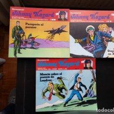 Cómics: LOTE 3 TEBEOS / CÓMIC JOHNNY HAZARD N 1-2-7 BURU LAN 1973 ORIGINAL COLECCIÓN AVENTURA. Lote 194222505