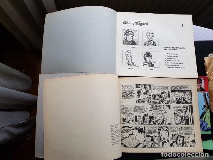Cómics: LOTE 3 TEBEOS / CÓMIC JOHNNY HAZARD N 1-2-7 BURU LAN 1973 ORIGINAL COLECCIÓN AVENTURA - Foto 2 - 194222505