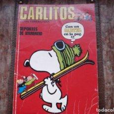 Cómics: CARLITOS Y LOS CEBOLLITAS DEPORTES DE INVIERNO Nº 8. Lote 194318898