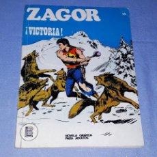 Cómics: ZAGOR Nº 50 BURULAN ORIGINAL AÑO 1972 . Lote 194335748
