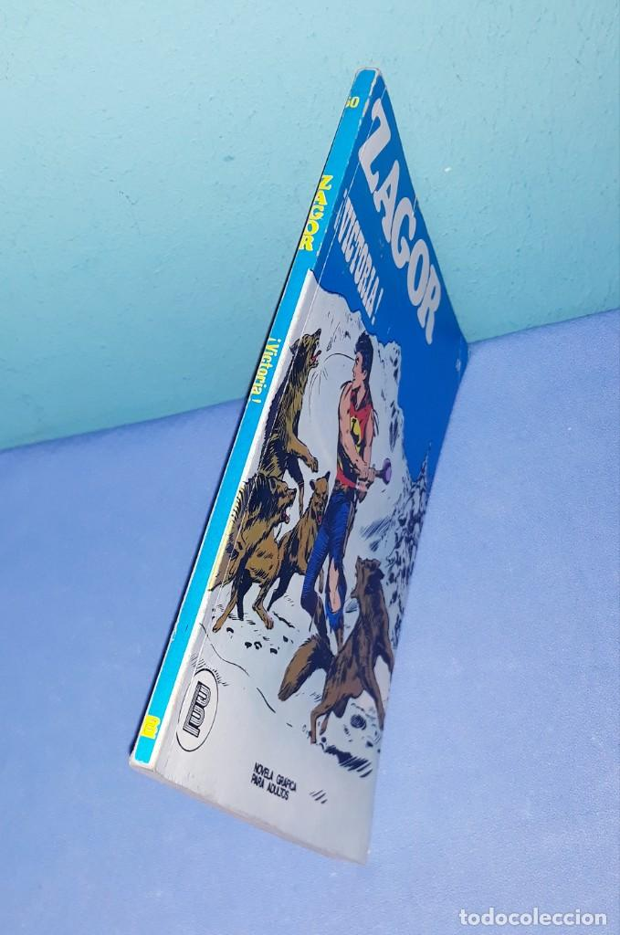 Cómics: ZAGOR Nº 50 BURULAN ORIGINAL AÑO 1972 - Foto 2 - 194335748